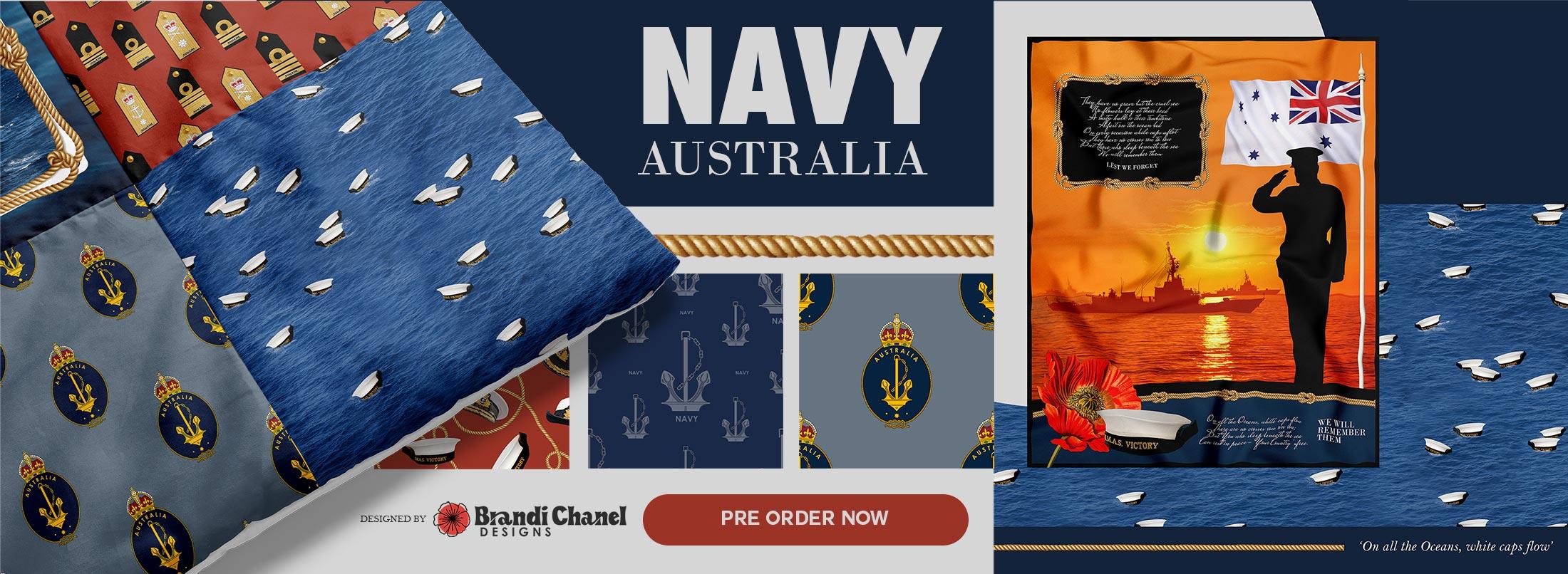 1088 Navy Australia Category Banner