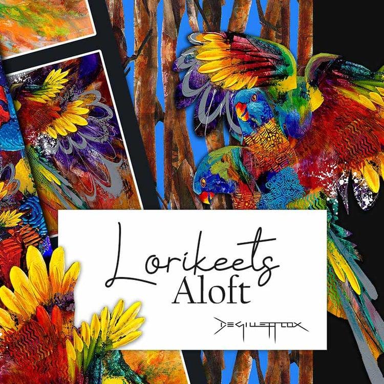 Category-Image Lorikeets Aloft Small