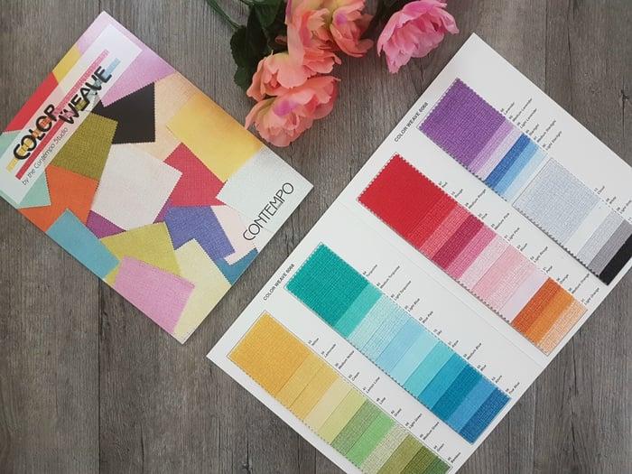 Colour Weave Colours by Contempo