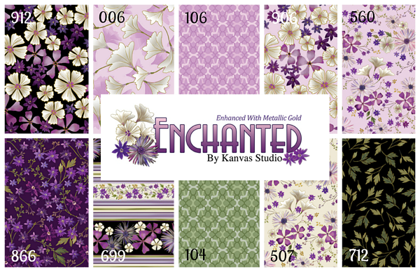 Enchanted Collage numbered