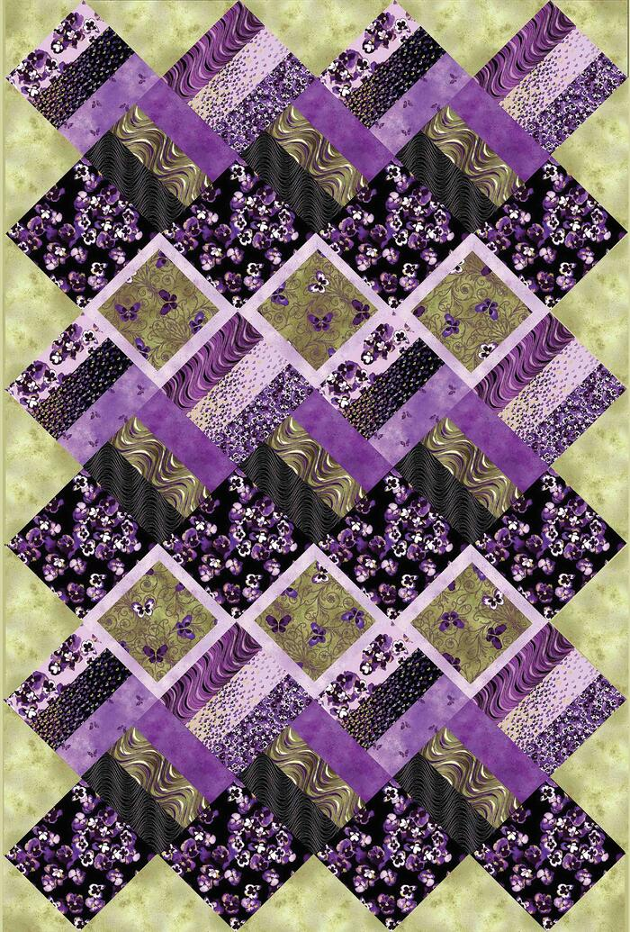Fields Of Violet Quilt