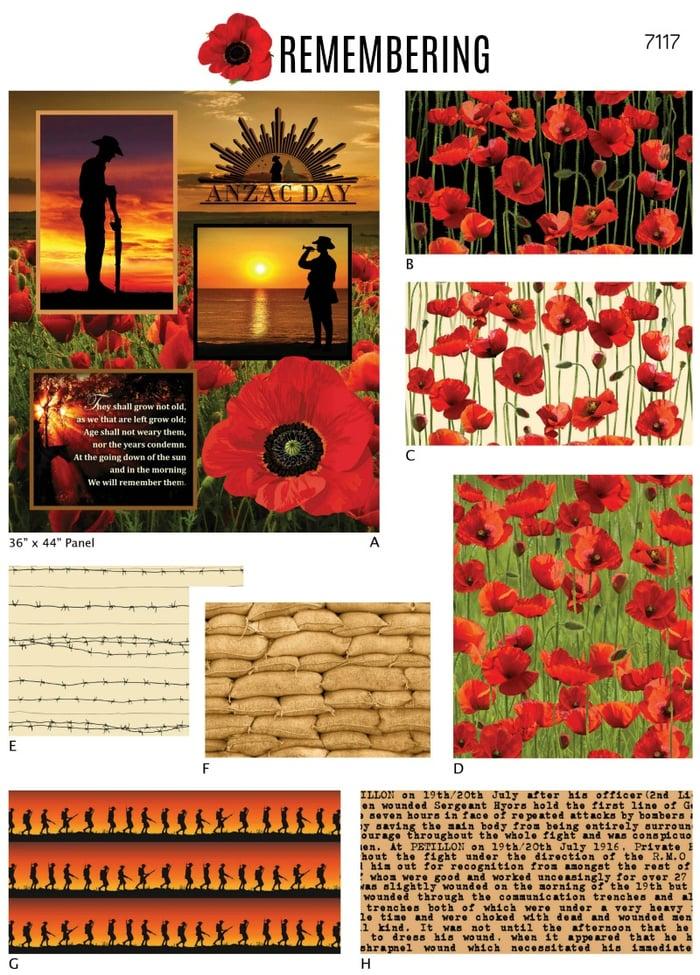 Remembering Designs 7117