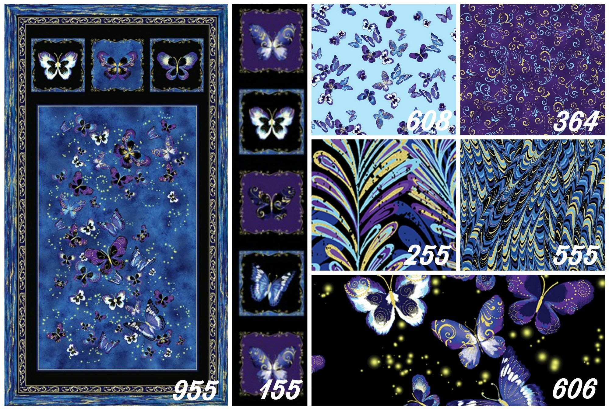 Butterfly Jewel Collage2